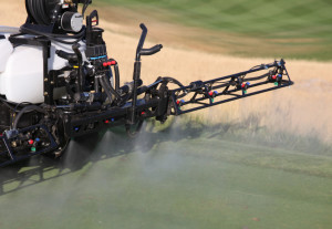 Pesticides held in rootzone longer